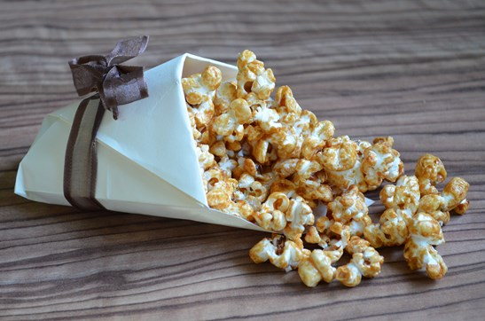 Pop corn caramel