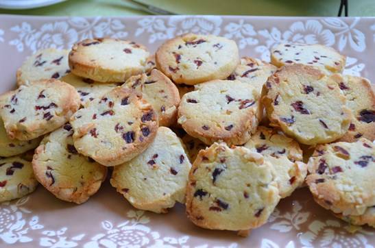 Sables cranberries amandes